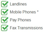 Andorra Toll-Free Mobile Accessible phone numbers are accessible from the following devices and networks