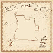 Angola Antique Map