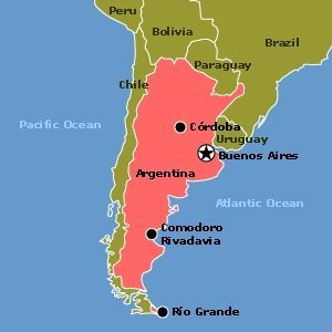 Argentina Location On The World Map Argentina Map And Satellite - Where is argentina