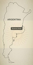 Argentina Map Geographical