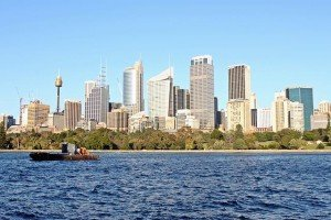 Sydney, Australia Skyline Harbour