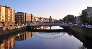 Bridge Dublin Ireland Eire City Canal