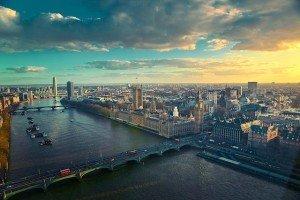 UK London Thames River