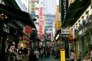 Myeongdong Seoul Korea image