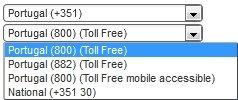 Portugal Virtual Number Database