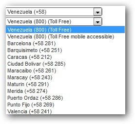 Venezuela Virtual Numbers