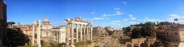 Rome Italy Panorama