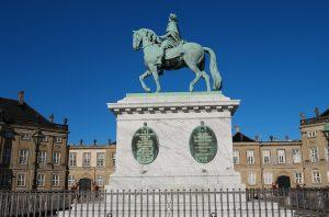 Amalienborg Copenhagen Denmark Royal Family