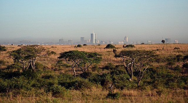 Nairobi Kenya Skyline