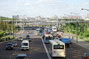 Kazakhstan Astana Roads
