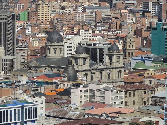Bolivia City Scape