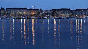 Helsinki City at Night Finland