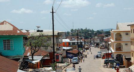 Bo City Sierra Lleone