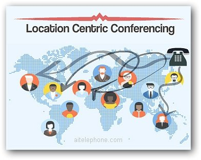 Location Centric Conference Calling