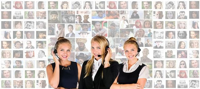 Operators at Call Center