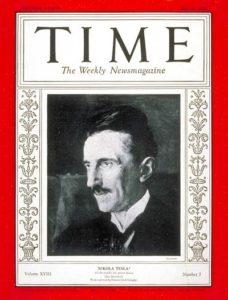 Nikola Tesla Time Magazine 1931