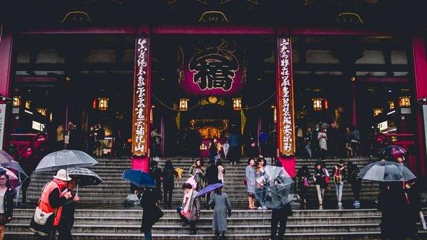 Sensō-ji, Taitō-ku, Japan