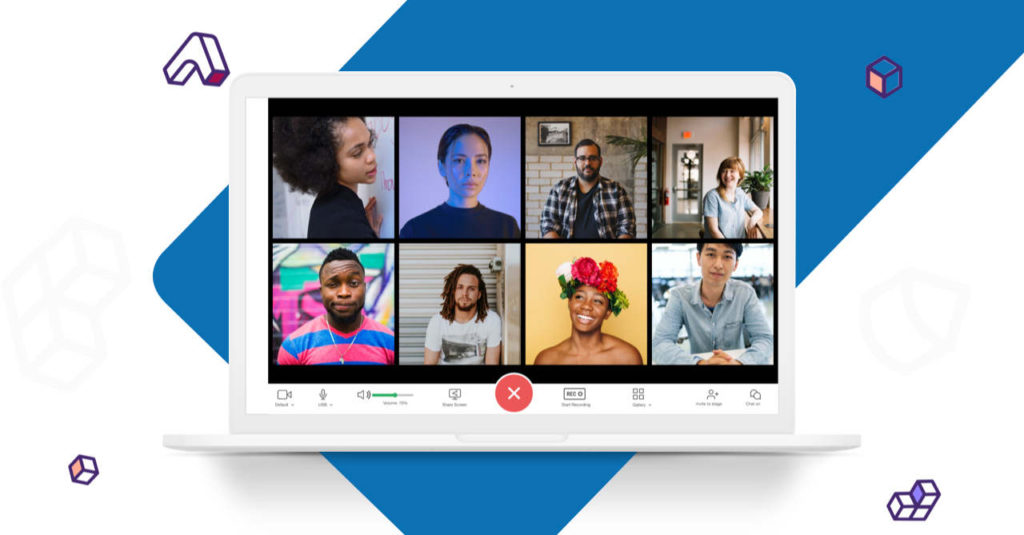 A virtual workplace you'll actually like. You can host internal and external video meetings and chatrooms, collaborate on documents, even share big files, all privately at your own domain with your own logo and branding.