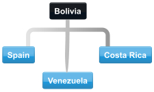 Example Bolivia conference call with trading partner countries