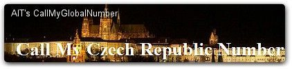 International Call Forwarding | CallMyCzechRepublicNumber - Czech Republic Phone Number