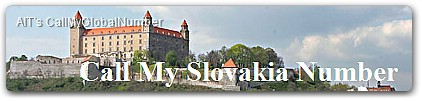 Slovakia Virtual Phone Number | International Call Forwarding