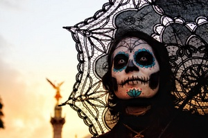 Catrina´s parade in México City