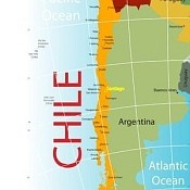 Chile has a population of 17,363,894