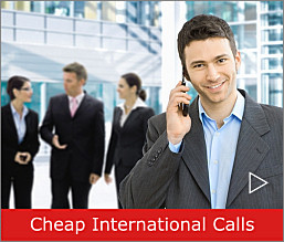 Extremely low cost international calls