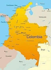 Conference Call Colombia Map