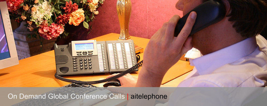 On demand international conference calls with any country