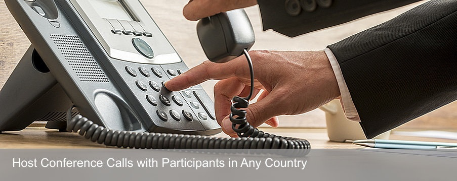 Host International Conference Calls with Attendees in Any Country