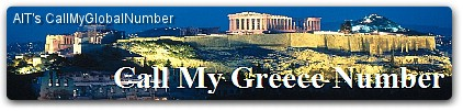 Greece Toll Free Local Number Call Forwarding