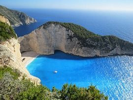 Greece Zakynthos Sea beach