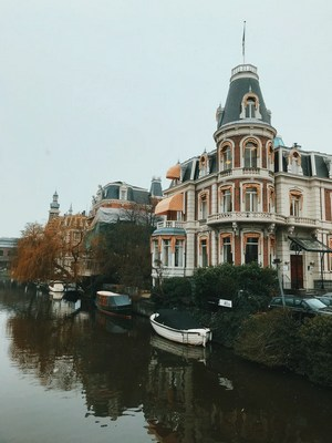 House in Amsterdam, Netherlands