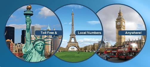International Toll-Free and Local Virtual Numbers