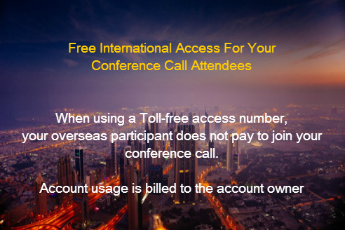 Global Conference Call User