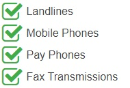 India Virtual Phone Number is Accessible from landlines, mobile phones, pay phones, fax transmissions