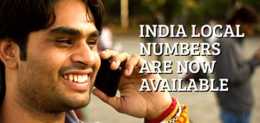 Mumbai, Bangalore and New Delhi virtual phone numbers, India