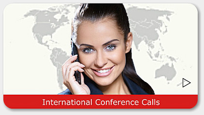 International Conference Calls with 100+ country access numbers