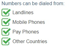 Israel Mobile Accessible SMS Numbers are accessible from the following devices