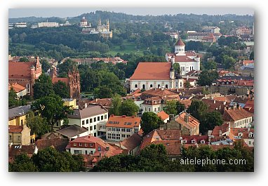 View Of Vilnius Old Town, Lithuania
