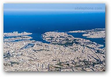 Valletta In Malta As Seen From The Air