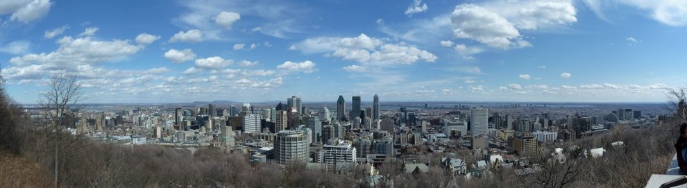 Montreal, Mont Royal Panorama