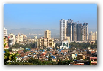 Mumbai, INDIA - December 4 : Mulund is a suburb of Mumbai one of earliest planned suburb on the outskirts of Mumbai city, on December 4,2015 Mumbai, India
