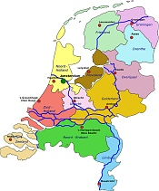 Netherlands Map Geography image