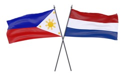 Netherlands and Philippines Country Flags