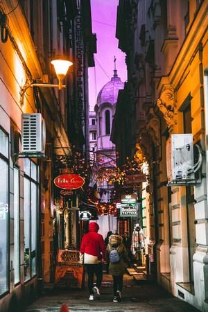 Old Town, Bucharest, Romania