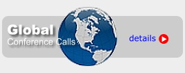 Global Conference Call Service with worldwide network footprint for easy remote attendee connections.