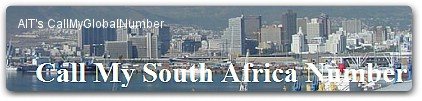 South Africa Virtual Phone Number | International Call Forwarding