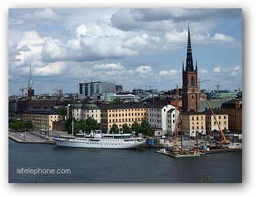 Stockholm Sweden Gamla Stan the Old Town
